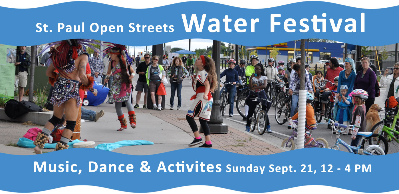 St. Paul Open Streets Water Festival