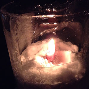 candle-in-ice