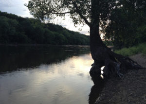 Mississippi River at Hidden Falls