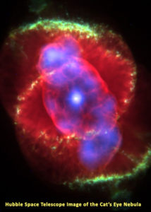Cat's Eye Nebula from the Hubble Space Telescope
